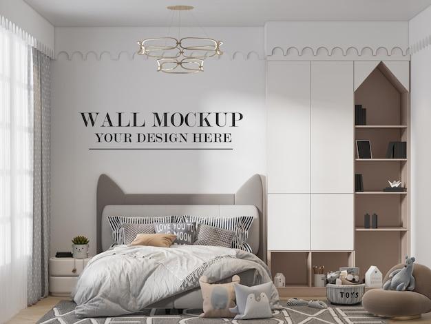 Wall layout teenage bedroom