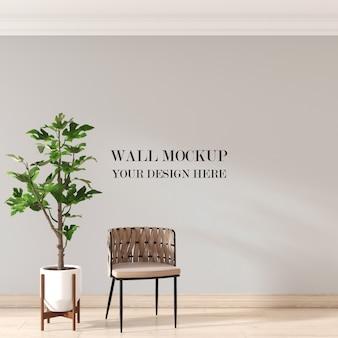 Wall mockup
