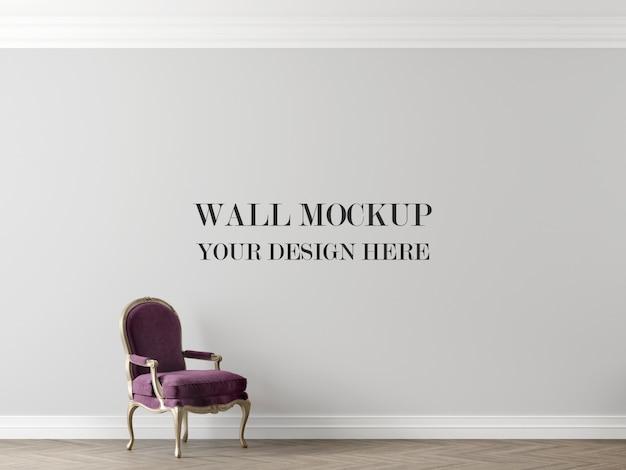 壁のモックアップ
