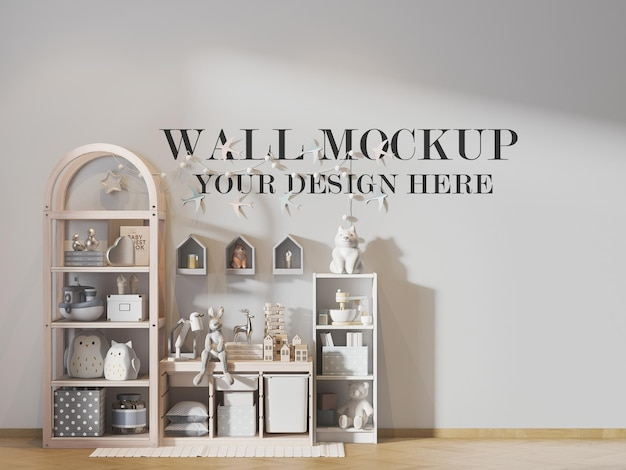 Wall template for your design and textures