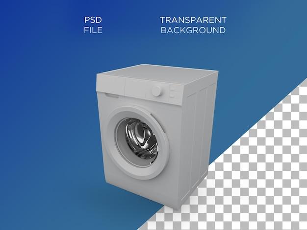 세탁기 3d 세우다 화이트