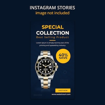 Watch social media instagram stories