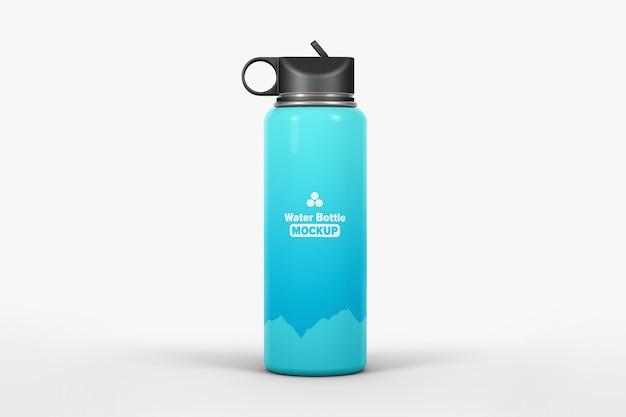 Water bottle mockup isolated