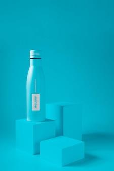 水滴ボトルのモックアップ