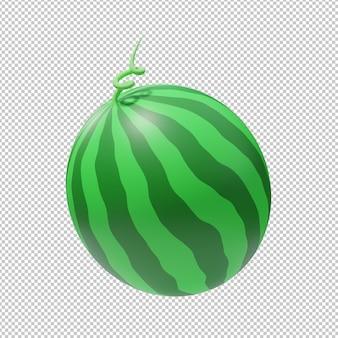 수박 과일 3d 그림