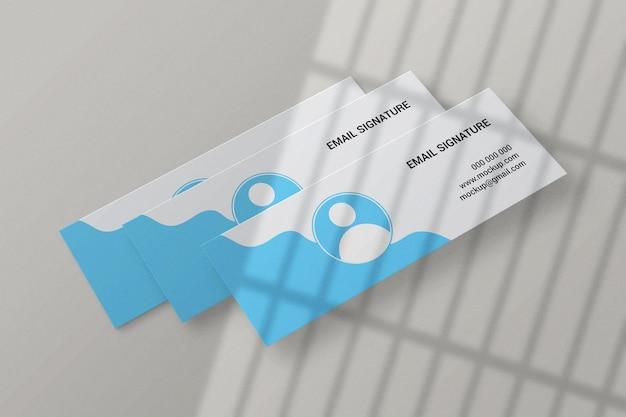 Веб-баннер facebook обложка email подпись макет
