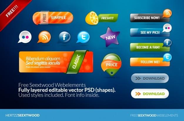 Бесплатный webelements seextwood
