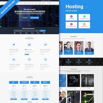 Шаблон веб-хостинга