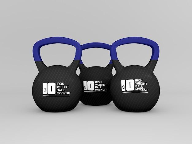 Весовой мяч для тренировочного макета