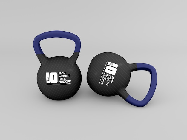 Weight ball for training mockup