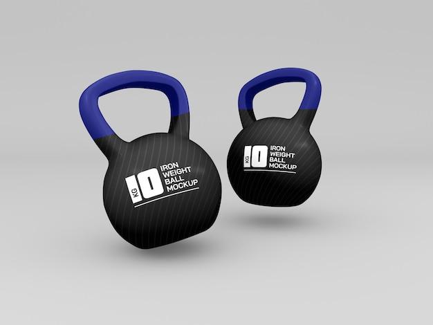 Весовые мячи для тренировочного мокапа
