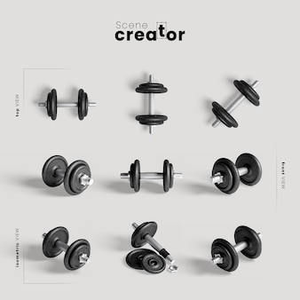 Weights for training mock-up