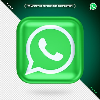 Whatsapp 3d app