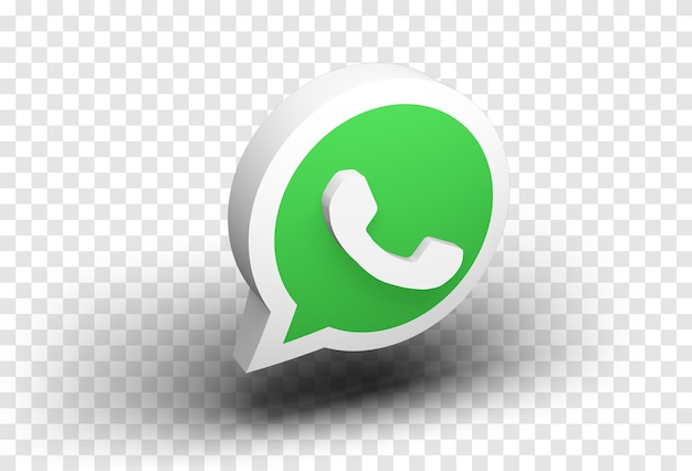 Whatsapp 3d icon