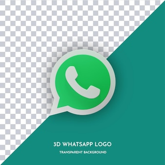 Whatsapp3dスタイルのアイコン