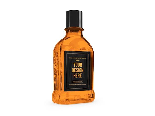 위스키 알코올 3d 모형 디자인 절연