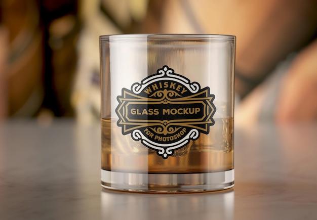 Whisky tumbler glass