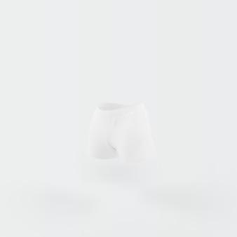 白に浮かぶ白いパンツ