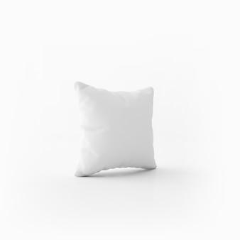 Белая мягкая подушка
