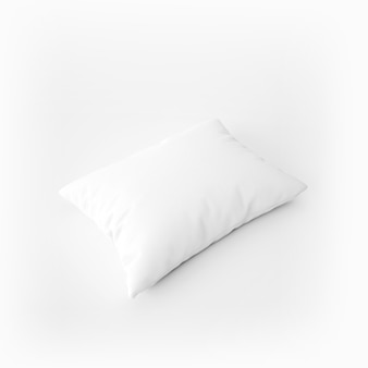 White soft pillow
