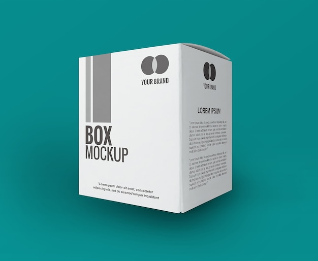 흰색 사각형 상자 이랑 절연