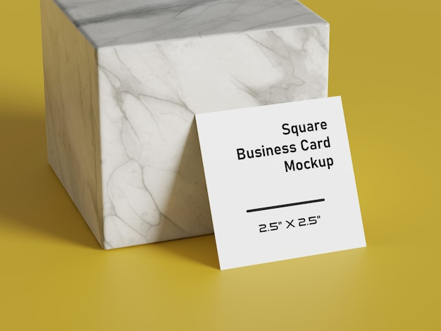 Белый квадратной формы макет бумаги. брендинг презентации шаблона печати.
