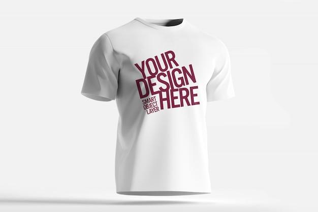 Белая футболка макет