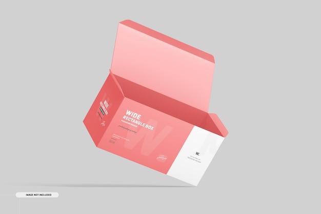 Макет прямоугольной коробки