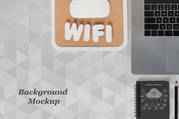 최신 장치를위한 wi-fi 네트워크