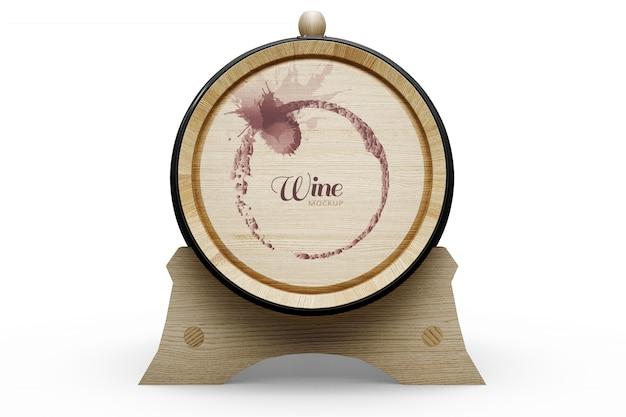 Wine barrel design Free Psd