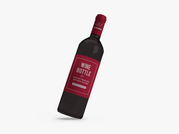 와인 병 모형 디자인