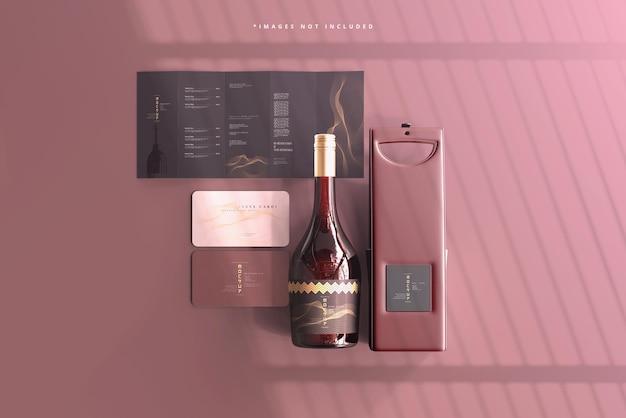 와인 브랜딩 프로토 타입 장면