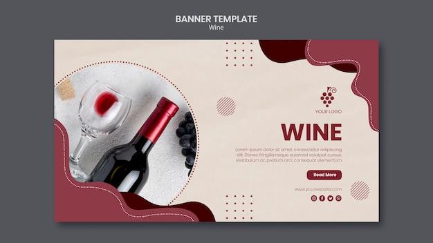 Wine concept template