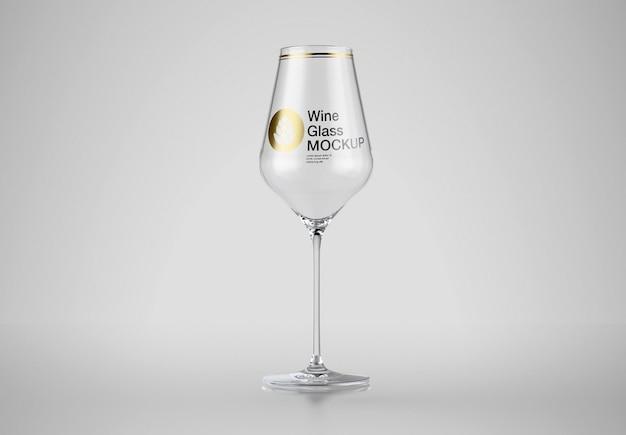 와인 잔 모형 프리미엄 PSD 파일