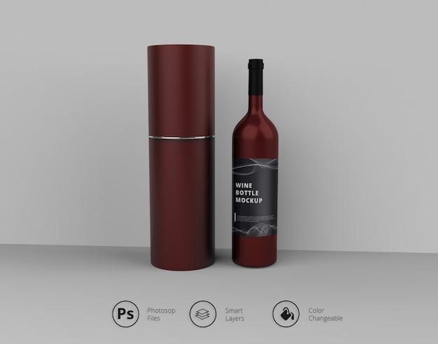 Винный макет