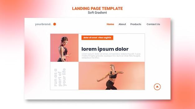 Woman doing cardio landing page