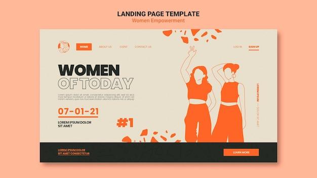 Веб-шаблон по расширению прав и возможностей женщин