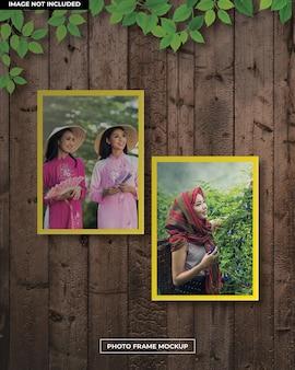 Женская zphoto рамка макет