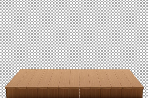 Wood board background isolated Premium Psd