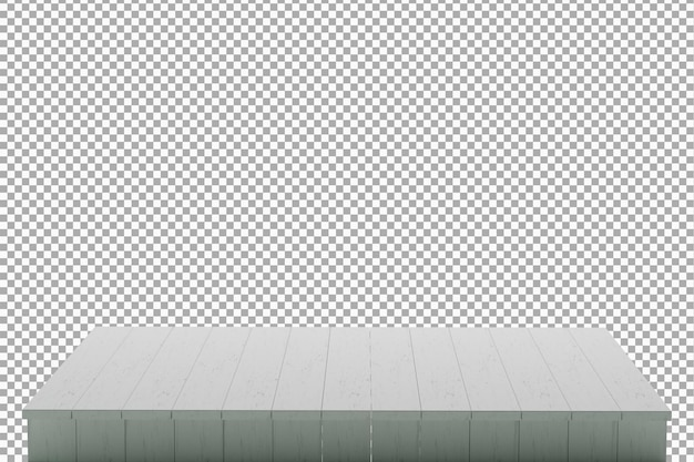 Wood board background isolated