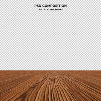 고립 된 나무 테이블 탑 프리미엄 PSD 파일