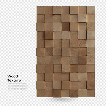 木の壁の質感の装飾家具のデザイン