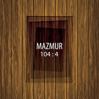 Wooden background design