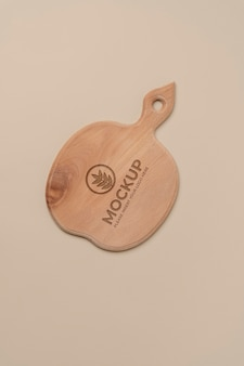 木製まな板モックアップデザイン