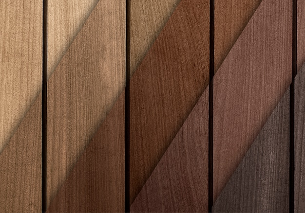 Wooden floorboard samples textured background
