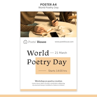 세계시의 날 포스터