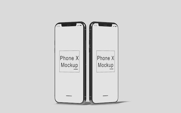 電話xモックアップ