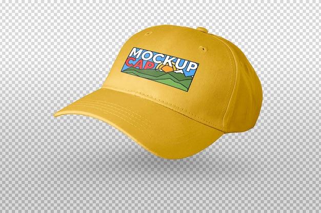 Mockup coppa gialla