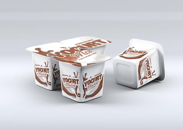 Йогурт макет