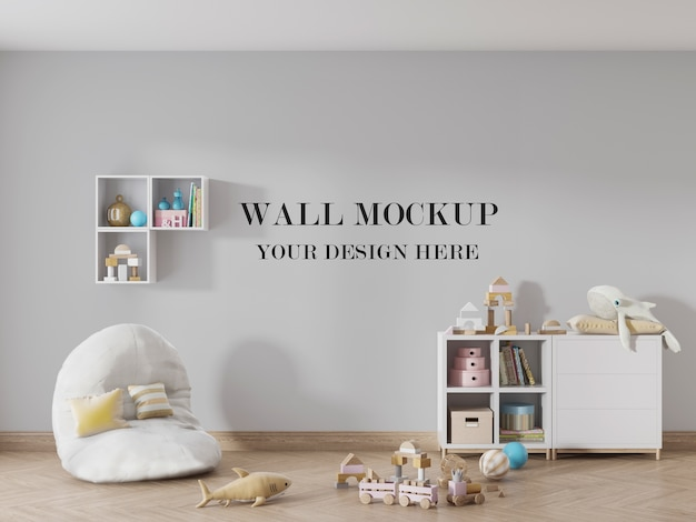 Your design on the wall of the kids room